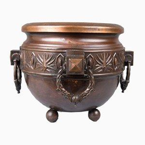 Antique Palm Pot, 1890s
