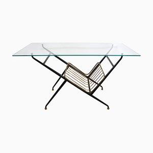 Table Basse avec Porte-Revues, Italie, 1950s