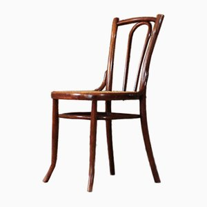 Bentwood and Cane Bistro Chair, 1960s