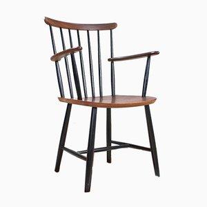 Wooden Armchair from Billund Mobler, 1960s