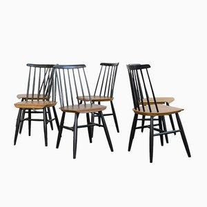 Esszimmerstühle von Ilmari Tapiovaara, 1960er, 6er Set