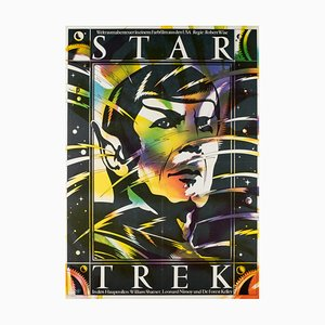 Affiche Star Trek par Schulz Ilabowski, 1980s
