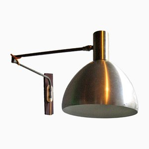 Danish Adjustable Wall Lamp, 1950s
