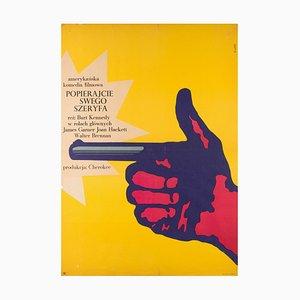 Affiche Support Your Local Sheriff par Bronislaw Zelek, 1967