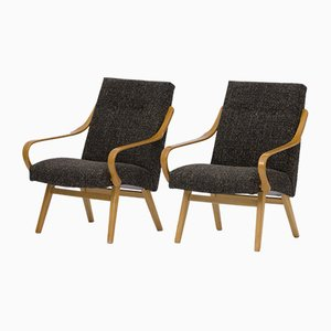 Lounge Chairs from TON, 1960s, Set of 2