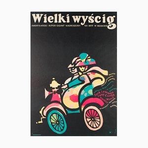 Affiche The Great Race par Jerzy Flisak, 1966