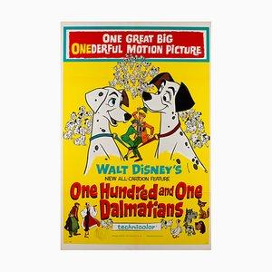 Affiche 101 Dalmatiens, 1961