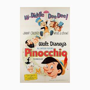 Affiche Pinocchio, 1971