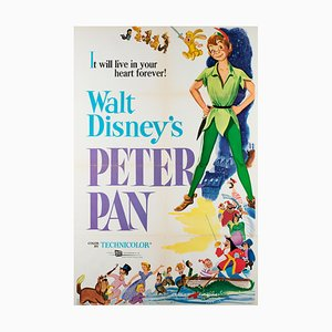 Affiche Peter Pan, 1969