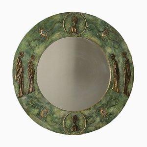 Italienischer Vintage Spiegel, 1970er