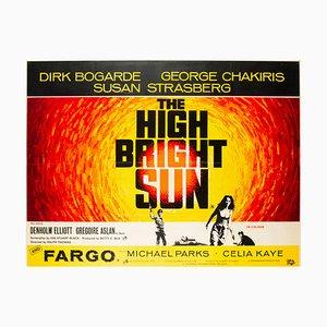 Affiche The High Bright Sun, 1964