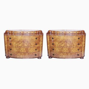 Chests of Drawers, 1970s, Set of 2