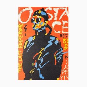 Affiche The Last Emperor par Waldemar Swierzy, 1989