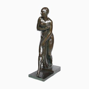 Art Deco Sculpture by G. Chauvel, 1920s