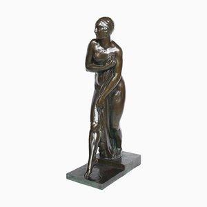 Art Déco Skulptur von G. Chauvel, 1920er