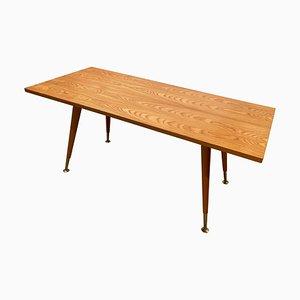 German Maple Side Table by Ilse Möbel, 1950s