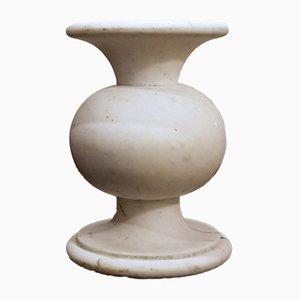 Italienischer Säulentisch aus Marmor, 1970er