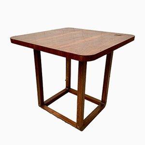 Tavolo da pranzo vintage e quattro sedie di Pierre Gautier Delaye, anni '50