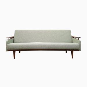 Sofá de tres plazas Tweed, años 60