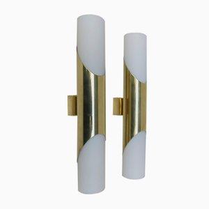 Brass Sconces from Neuhaus-Leuchten Heinz Neuhaus, 1960s, Set of 2