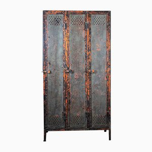 Metal Locker Cabinet from Gantoise, 1940s