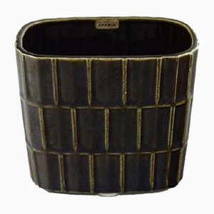 Glasierte Keramikvase von Kaj Franck für Arabia, 1960er