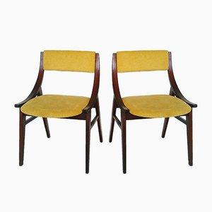 Dining Chairs from Zamojskie Fabryki Mebli, 1970s, Set of 2