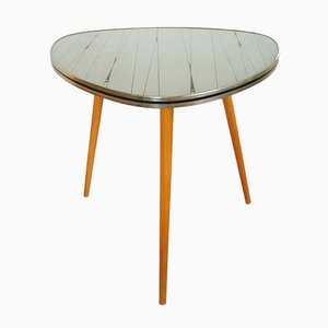 Glass Tripod Coffee Table, 1960s