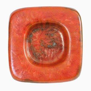Bol en Céramique Orange de Centro Ave, Italie, 1970s