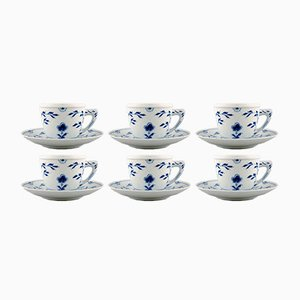 Butterfly Coffee Set from Bing & Grondahl, 1960s, Set of 6