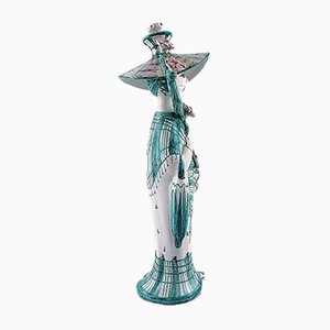 Figurine Automne en Céramique par Bjørn Wiinblad, 1980s