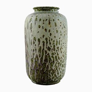 Glazed Ceramic Vase by Arne Bang, 1930s