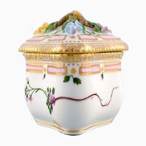 Pot à Crème Triangulaire de Royal Copenhagen, 1950s