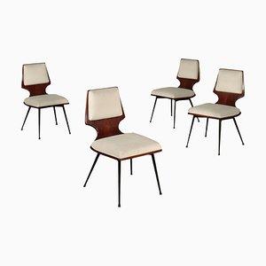 Chaises d'Appoint, Italie, 1960s, Set de 4