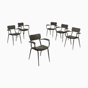 Mid-Century Italian Side Chairs, Set of 6