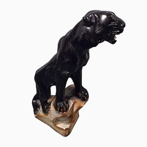 Black Panther Ceramic, 1960s