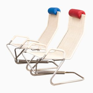 Tecta D36 Lounge Chairs by Jean Prouvé for Tecta, 1990s, Set of 2