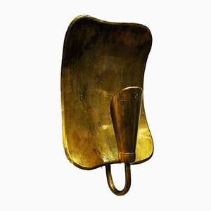Brass Sconce by Lars Holmström for Arvika, 1950s