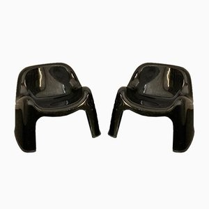 Lounge Chairs by Sergio Mazza for Artemide, 1960s, Set of 2