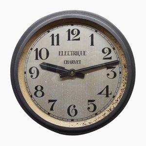 Industrial Clock from Charvet, 1950s