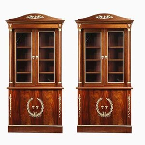 Empire Bookcases from Maison Jansen, 1950s, Set of 2