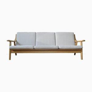 Mid-Century Danish Oak Model 530 Sofa by Hans J. Wegner for Getama