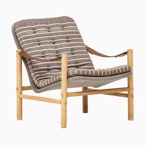 Swedish Model Junker Safari Lounge Chair by Boije Bror for Dux, 1960s