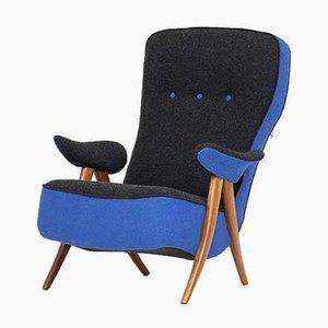 Niederländischer Modell Penguin Sessel von Theo Ruth für Artifort, 1960er