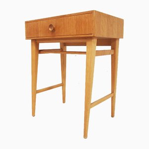 Oak Nightstand from Meredew, 1970s
