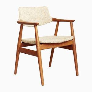 Armlehnstuhl mit Gestell aus Teak von Svend Åge Eriksen für Glostrup, 1960er