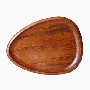 Swedish Teak Tray from Karl Holmberg, 1960s