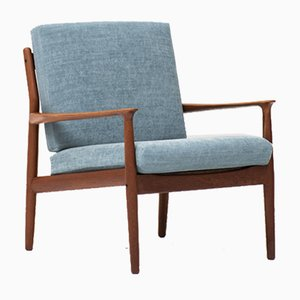 Danish Lounge Chair by Grete Jalk for Glostrup, 1960s