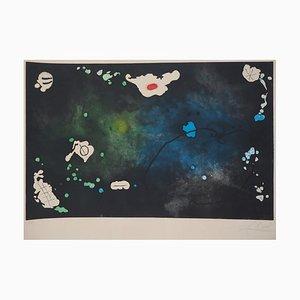 King David Etching by Joan Miro