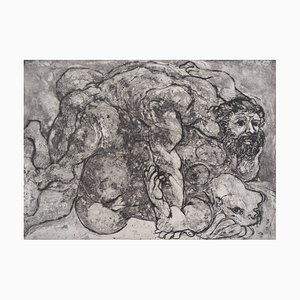 The Lovers, Suite Vollard Etching by Pablo Picasso